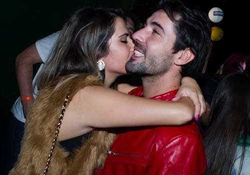 Chamego! Sandro Pedroso é visto com filha do cantor Leonardo
