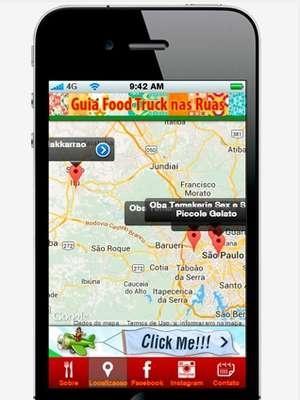 Site e aplicativo localizam trailers de comida de rua