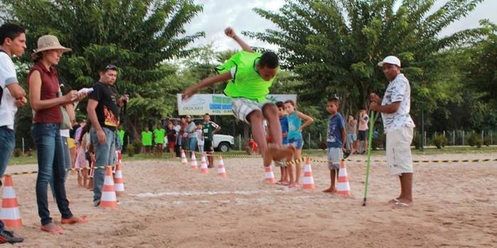 Município realiza etapa municipal do Programa Atleta na Escola