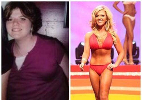 Americana perde 45kg depois de sofrer bullying na escola, fica loira e vira miss