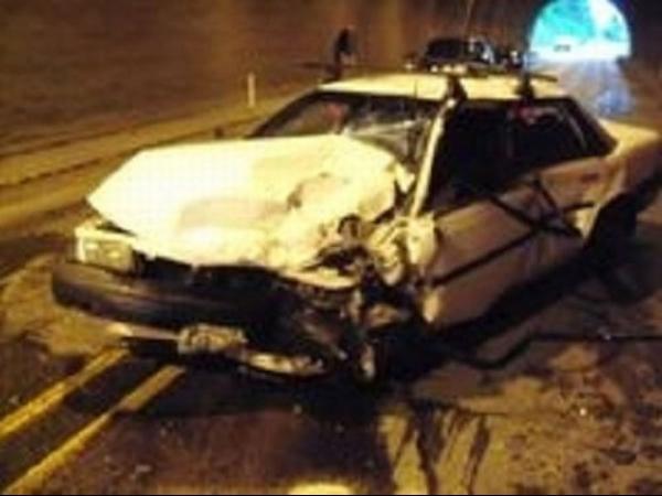 Motorista desmaia e causa acidente ao tentar passar por túnel prendendo a respiração