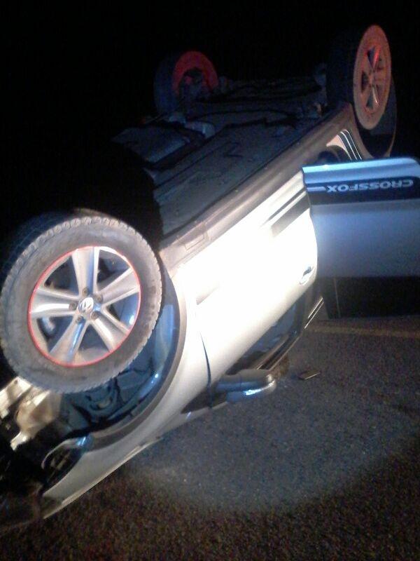Carro capota em estrada e deixa um morto em São Raimundo Nonato