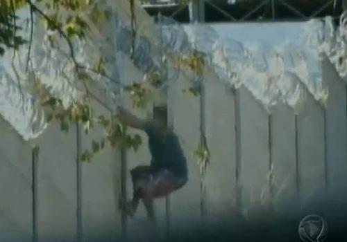 Flagra: ladrão foge de prisão, rouba padaria e volta para presídio no RS