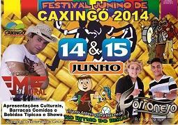 Prefeitura de Caxingó realiza seu Festival Junino nos dias 14 e 15 de junho