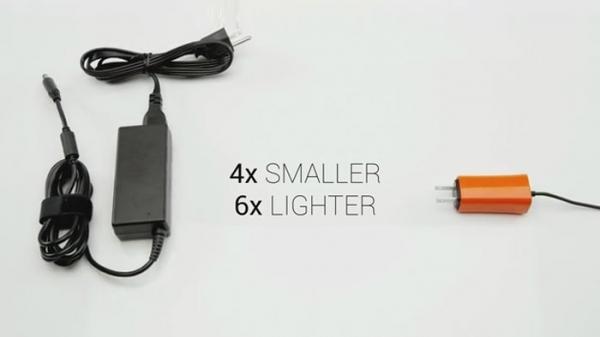 Novo carregador para notebooks será 4x menor