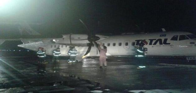 Avião colide com animal na pista e faz pouso forçado em Manaus