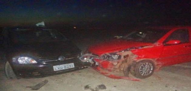 Veículos colidem e criança ferida é encaminhada para hospital no litoral piauiense