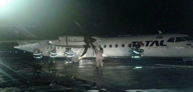 Avião contendo 49 pessoas realiza pouso de emergência após colidir com animal em Manaus
