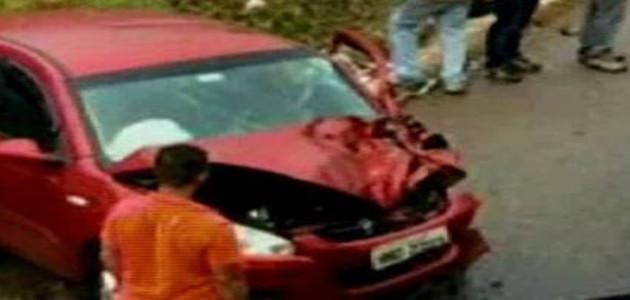 Imagem de rosto aparece em ferragens de carro batido na região central de MG; veja a foto