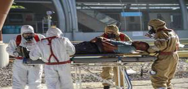 Forças Armadas realizam simulação contra ataque radioativo em metrô da cidade do Rio de Janeiro