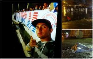 Emoção marca enterro de jovem morto por vaso sanitário em estádio de Recife
