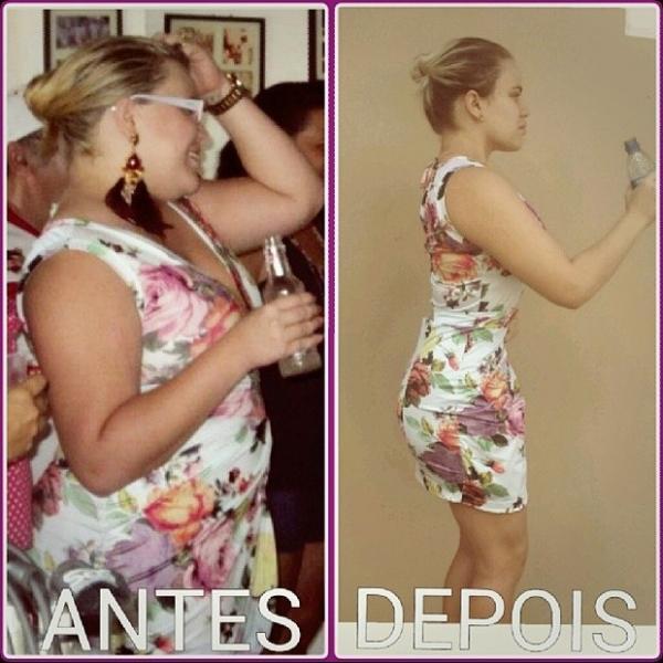 Ex-BBB Paulinha impressiona ao mostrar antes e depois de seu corpo