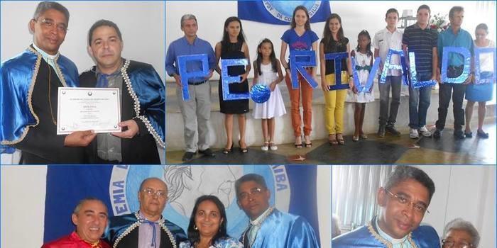 O Pe Rivaldo Muniz Araújo é empossado como novo membro da Academia de Letras do Médio Parnaíba