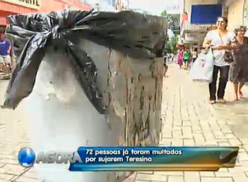 Prefeitura faz 72 autuações desde a implantação da Lei Lixo Zero