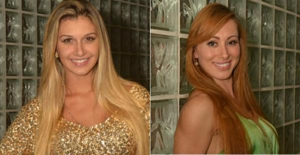 Ex-BBBs Aline e Tatiele brigam nas redes sociais por cirurgia plástica