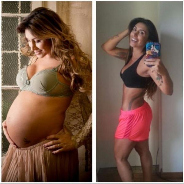 Jaque Khury rebate críticas à boa forma após gravidez