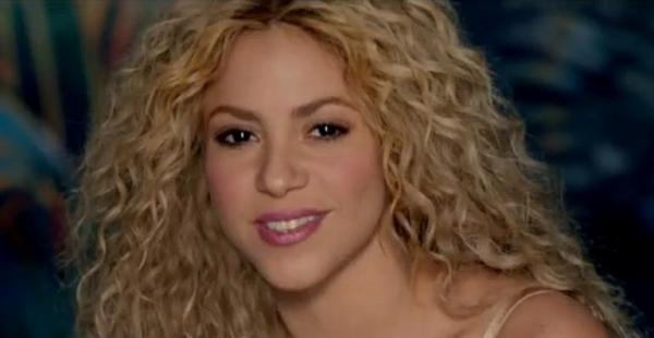 Shakira lança clipe de sua nova música