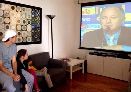 Surpresa de Felipão, Henrique vibra com a vaga: ?Faltam palavras?