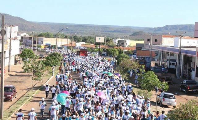 Aproximadamente 17 mil pessoas são esperadas na X Caminhada da Paz de Picos.