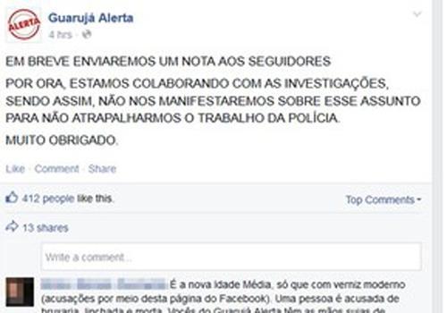Quarto suspeito de linchamento em Guarujá, SP, se entrega para a polícia
