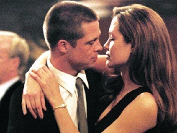 Angelina Jolie nega casamento com Brad Pitt por enquanto: