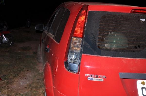 Colis縊 entre carro e moto em Jos de Freitas deixa motociclista ferido