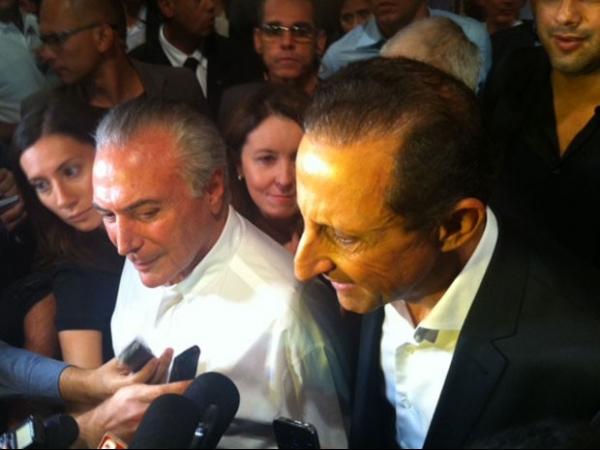 Confirmado como candidato, Skaf vê polarização entre PMDB e o PSDB