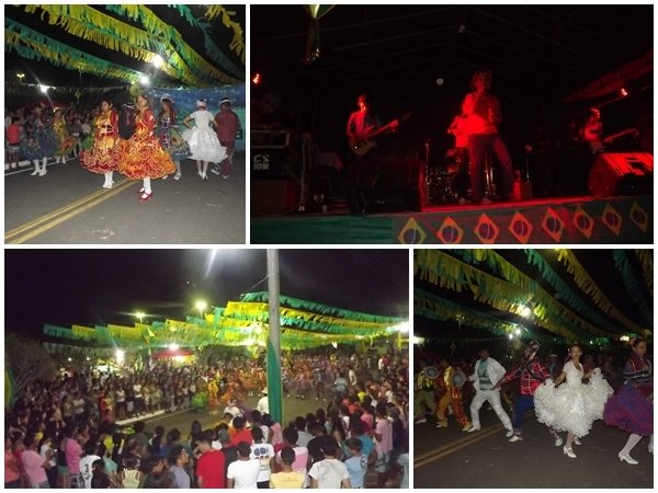 FOTOS: 1ª noite do festival de quadrilhas de Caxingó reúne multidão  - Imagem 6