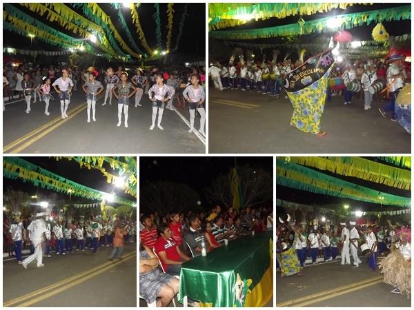FOTOS: 1ª noite do festival de quadrilhas de Caxingó reúne multidão  - Imagem 4