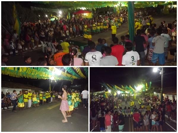 FOTOS: 1ª noite do festival de quadrilhas de Caxingó reúne multidão  - Imagem 2