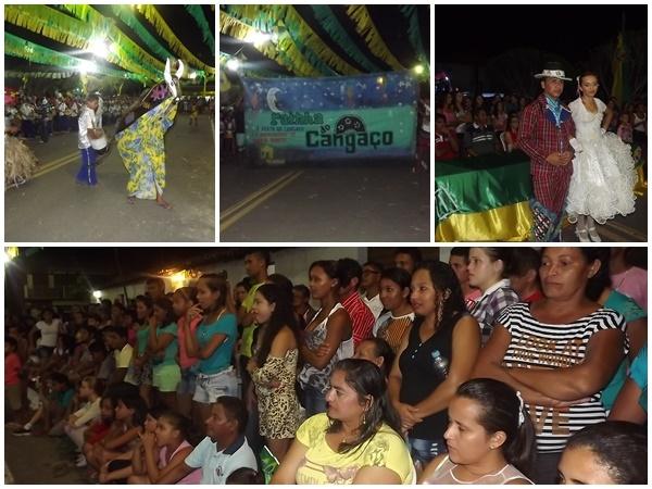 FOTOS: 1ª noite do festival de quadrilhas de Caxingó reúne multidão  - Imagem 5