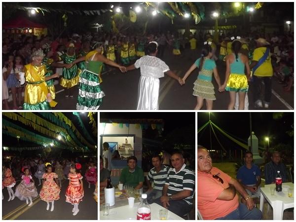 FOTOS: 1ª noite do festival de quadrilhas de Caxingó reúne multidão  - Imagem 3