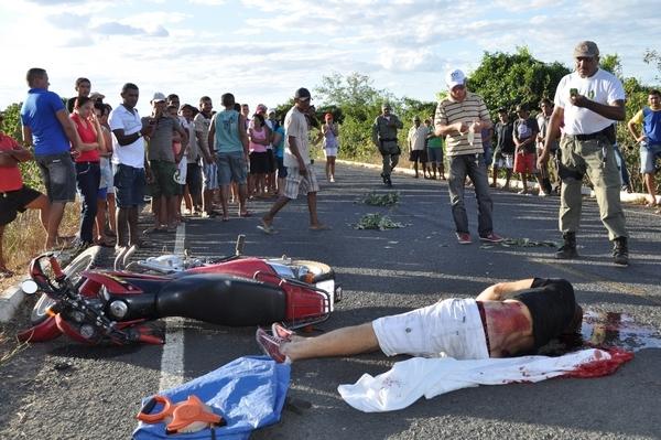Acidente deixa vítima fatal na PI -143 próximo a colônia do Piauí