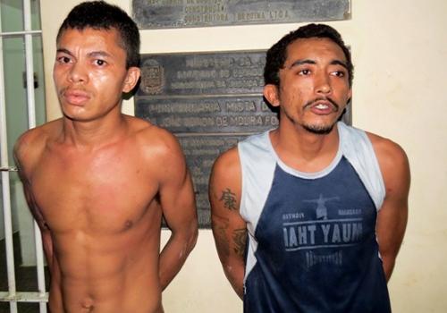 Dois detentos tentam fugir e geram tumulto em pres冝io