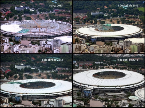 Maracanã volta a sediar um jogo da Copa após 64 anos e obra de R$ 1 bi
