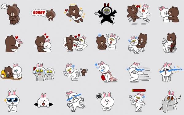 Rival do WhatsApp, Line aposta em ícones coloridos para ganhar usuários
