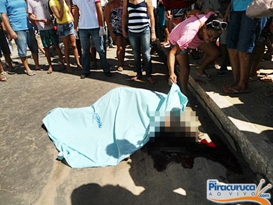 Acidente entre caminhão e moto mata uma mulher em Piracuruca
