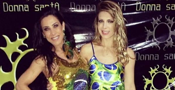 Juntas em novo projeto, Scheila Carvalho e Sheila Mello dançam sucessos do axé