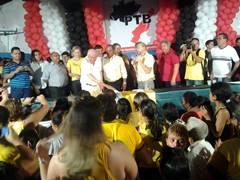 PTB lança ex-prefeita Janainna Marques como pré-candidata à deputada estadual