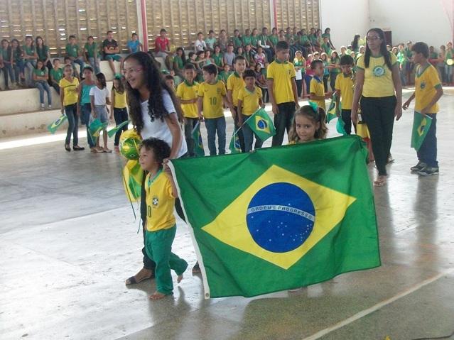 """Educação de Jatobá do Piauí faz culminância de projeto """"A grande Jogada"""". FOTOS!"""