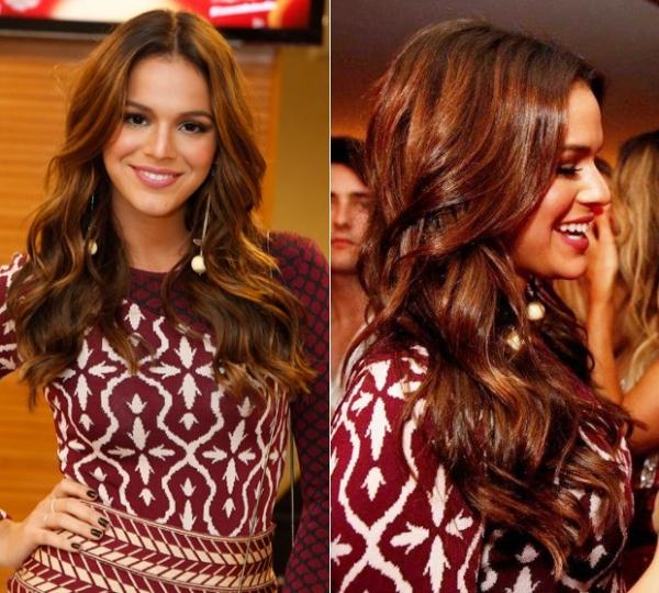 Hairstylists ensinam como ter os cabelos da atriz Bruna Marquezine