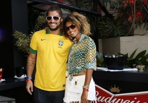 Sheron Menezzes sobre David Luiz: