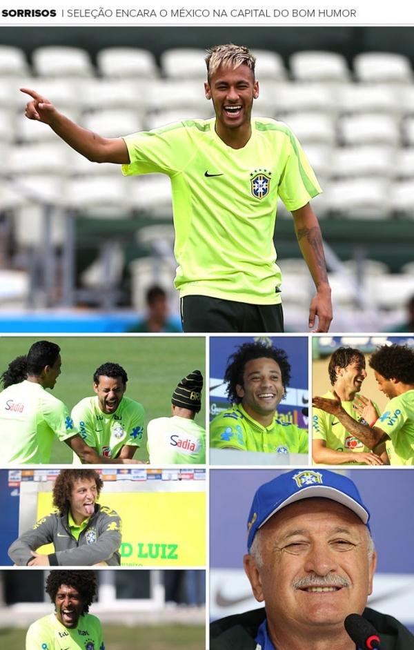 Sorria, Brasil! Seleção enfrenta o México na capital nacional do humor