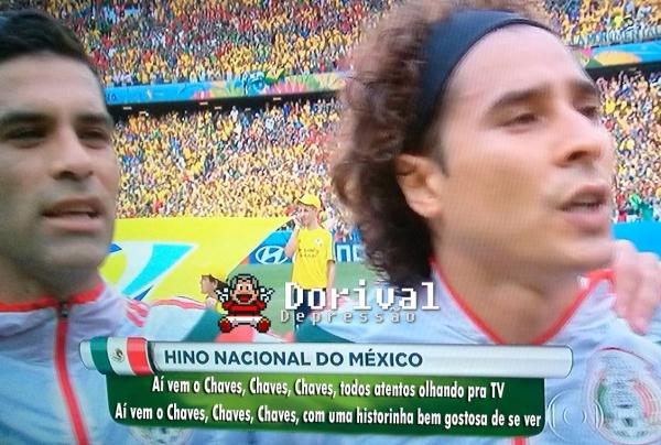 Bruna Marquezine, Chaves, corneta em Fred: as zoações do empate do Brasil com o México