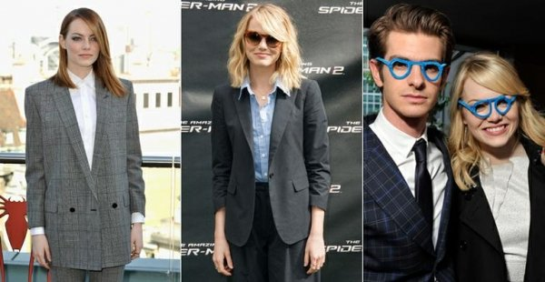Emma Stone dá lição fashion à mulher que usa terno feminino ou masculino
