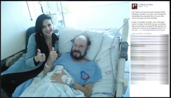 José Mojica, o Zé do Caixão, volta a ser internado em São Paulo, diz filha