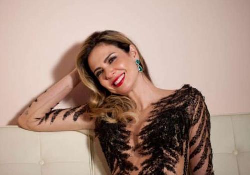 Com transparências, Luciana Gimenez estrela campanha de grife
