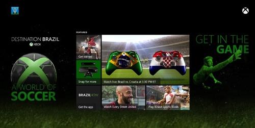 Xbox One ganhará aplicativo e conteúdo exclusivo para a Copa do Mundo