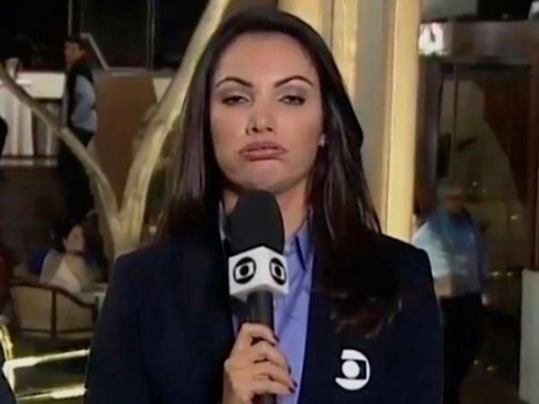 Após careta, Patrícia Poeta é proibida de dar entrevistas
