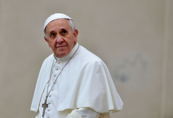 Papa Francisco descreveu o vício em drogas como um mal e condena a legalização de maconha